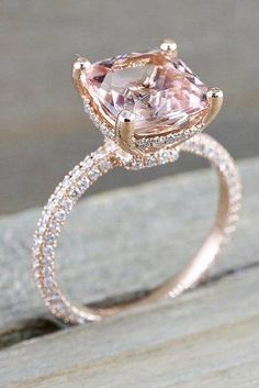 Rose Gold Engagement Rings for women carat t. diamond ring Gift Box Authenticity cards Riviera Shank (G, SI) (Ring Size – Fine Jewelry & Collectibles Beautiful Wedding Rings, Wedding Rings Rose Gold, Rose Gold Diamond Ring, Rose Gold Rings, Most Beautiful Engagement Rings, Dream Wedding, Rose Gold Morganite Ring, Pink Ring, Beautiful Beautiful