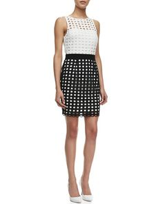 Doll House Open-Weave Cotton Dress by Bailey 44 at Neiman Marcus.