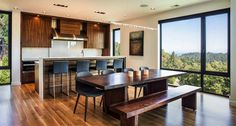 Multi-level home designed around music and family in Portland