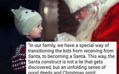 How This Mother Told Her Son The Truth About Santa Claus...