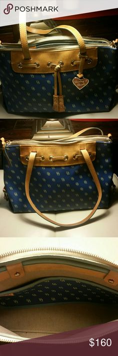 Dooney and Bourke Blue Leather Purse It's an amazing vintage Dooney and Bourke Purse Great Shape no tears and very clean. Dooney & Bourke Bags Satchels