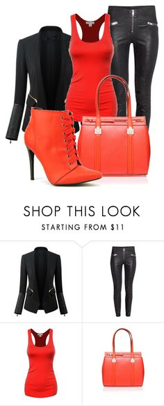 """Untitled #49"" by iamaddad on Polyvore featuring Chicsense, Nine West and Michael Antonio"