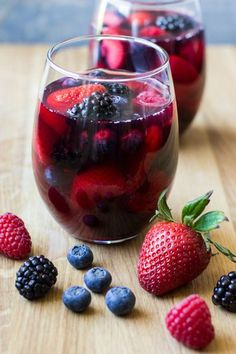 Berry-licious Iced Tea Red Sangria