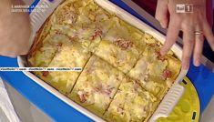 La ricetta delle lasagne di crespelle con patate prosciutto cotto e provolone di Sergio Barzetti del 12 novembre 2015 - La prova del cuoco