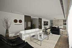 Living Room Design - From the S House, Istanbul by Tanju Özelgin | #LivingRoom #InteriorDesign #Interiors |