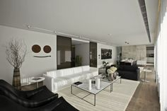 Living Room Design - From the S House, Istanbul by Tanju Özelgin | #LivingRoom #InteriorDesign #Interiors |