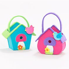 Birdhouse Felt Containers at Cost Plus World Market