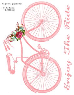 Free Vintage Bike Image Transfer   Flickr - Photo Sharing!