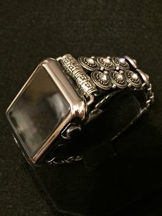 "Apple Watch iWatch Band 38mm 42mm Women Bands Case Bracelet Feminine Strap ""Brooke"" Beads Enhancement kits custom TimeKits 38 42 by TimeKitsUSA on Etsy https://www.etsy.com/uk/listing/285607171/apple-watch-iwatch-band-38mm-42mm-women"