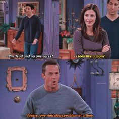 I'm Chandler lol Friends Tv Show, Friends Episodes, Friends Moments, Friends Series, I Love My Friends, Friends Forever, Best Friends, Ross Geller, Phoebe Buffay