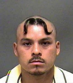 Forehead moustache, because one moustache just isn't enough.I LOLed till it turned into a silent belly laugh that made me cry! What was he thinking? Funny Videos, Funny Mugshots, Indian Funny, Funny Couples, Hair Photo, Funny Cartoons, Funny Jokes, Fun Funny, Hilarious Sayings
