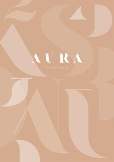 Ampans A branding born of co-creation - Aura, a modern and elegant stencil of Sabina Chipara -