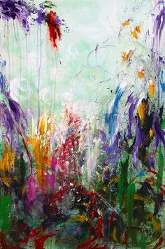 """Exciting, Bright, Lively and colorful! """"Tropical Journey"""" by Kume Bryant"""