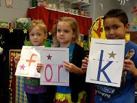 Kindergarten Faith: Be the Word: A Literacy Game