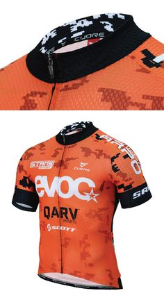 EVOC with collar pattern detail