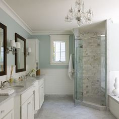 Bethesda - traditional - bathroom - dc metro - Liz Levin Interiors, Master bathroom ideas