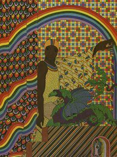 The Orichas Collection by Cuban-born artist Alberto del Pozo based on Afro-Cuban #Santería. http://www.juxtapoz.com/current/alberto-del-pozos-deities