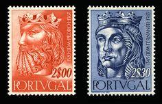 Reiss de Portugal D. Pedro I e Rei D. Fernando.