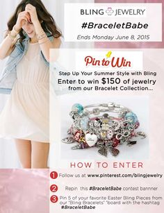 #BraceletBabe PIN IT TO WIN IT Contest!