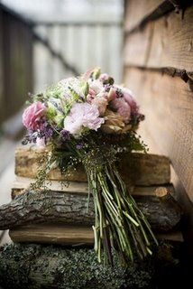 rustic wedding bouqet