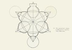 'The geometrical scheme of Borromini's Sant'Ivo. (After Benevolo).'