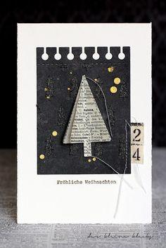 der kleine klecks: Mary-Jane´s Weihnachtskarten Challenge No. 5 - Das Lexikon