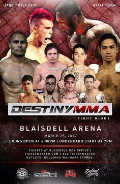 Destiny MMA: Fight Night - http://fullofevents.com/hawaii/event/destiny-mma-fight-night-2/