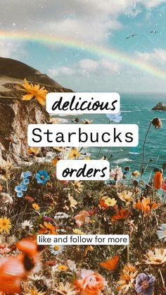 Cold Starbucks Drinks, Starbucks Coffee, Coffee Drink Recipes, Coffee Drinks, Frappuccino, Frappe, How To Order Starbucks, Summer Drinks, Fun Drinks