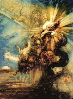 Gustave Moreau, 1826-1898/ 'Phaéton', 1878