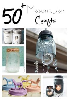 If you are on the hunt for some fresh and fun mason jar crafts for yourself or to give as gifts, look no further! Here are 50 Mason Jar Crafts to inspire!