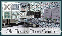 Sims 4 - Old Tiles - Dinha