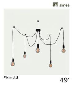 alinea   fix multi suspension réglable 5 lumières luminaires suspensions et  plafonniers suspensions -  Alinea c85824f1a0b0