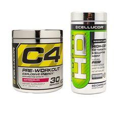 Cellucor C4 & Super HD Stack