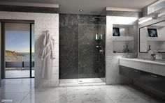 Whether you are doing a full remodel, updating your shower door or simply giving your bathroom a refresher- DreamLine Shower Doors have the largest variety of off-the-shelf sleek, modern frameless shower doors! On Sale NOW at Lowes!