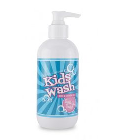 New! Kids Wash Bath & Shower Gel, 8oz