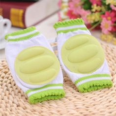 Baby Leg Warmers Pads Cotton Baby Greave Safety Crawling Elbow Cushion Toddlers Knee Protector Baby knee Pads Kids