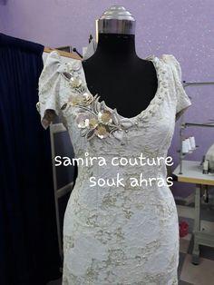 Gnader Saif, Crochet Motifs, Dress Patterns, Pattern Dress, Couture Dresses, Hijab Fashion, Formal Dresses, Sewing, T5