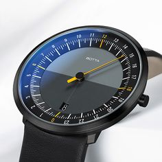 24-hour watch • UNO 24 one-hand watch online | Botta Design