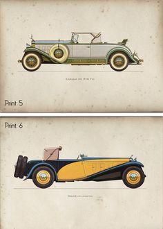 Car Themes, Room Themes, Car Art, Vintage Cars, Antique Cars, Vintage Stuff, Car Themed Rooms, Vintage Car Nursery, Car Prints