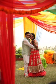 The Over-Organised Bride who forgot her wedding lehenga: Shivani and Harsh !