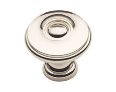 Cliffside Industries-Cliffside Classics Knobs Solid brass Polished Nickel 1