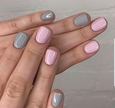 35 super cute summer nail color ideas year 2019 Summer nails,nails design,cool Cute and Beautiful Glitter Nail Designs Ideas For Summer - Pa Cute Summer Nails, Spring Nails, Cute Nails, Pretty Nails, Nail Summer, Cute Nail Colors, Classy Nails, Gel Nail Color Ideas, Elegant Nails
