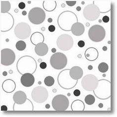 Black and white overlap circles