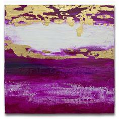 Esta é uma pintura feita pela artista Mel Gama.  Gradiente em tons de rosa pink, magenta, folhas de ouro e textura de juta. Peça bem moderna e posso fazer uma pintura semelhante em outros tamanhos a combinar. TÍTULO: A Dama DIMENSÕES: 50 x 50 x 3cm (Tela em 3D) MÉDIUM: Acrílico em tela  As laterais também são pintadas e chegarão prontos para exibição.  A simulação da decoração pode não estar com escala correta - é somente para se ter uma ideia.  Todas minhas pinturas são originais. São…