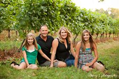 Bethany F Photography: Lovely Summer Evening FAmily poses for 4 with older kids