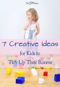 Do you know what's one of the biggest challenges in our home? Getting the kids to clean their rooms!! But here are 7 fun - and effective - ways to encourage kids to tidy up! 7 Creative Ideas for Kids to Tidy Up Their Rooms ~ Club31Women