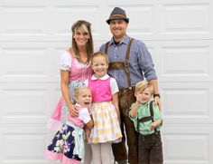 How to sew a Dirndl and how to sew Lederhosen, a german costume DIY