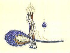Sezen Okur - Süleyman I.  (Kanuni Sultan Süleyman) [ölm. 1566] Tuğrası Design Crafts, Islamic Art, Islamic Art Calligraphy, Miniatures, Painting, Art, Tura, Humanoid Sketch, Book Art