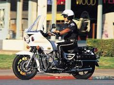 Los Angeles Police Depatrment Kawasaki Motorcycle