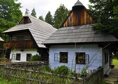 Museum of the Slovak Village in Martin, Slovakia. Includes 129 ancient & beautiful houses, churches & other buildings from the regions of Orava, Liptov, Kysuce-Podjavorníky and Turiec. Learn more at: http://slovakia.travel/en/snm-in-martin-museum-of-the-slovak-village